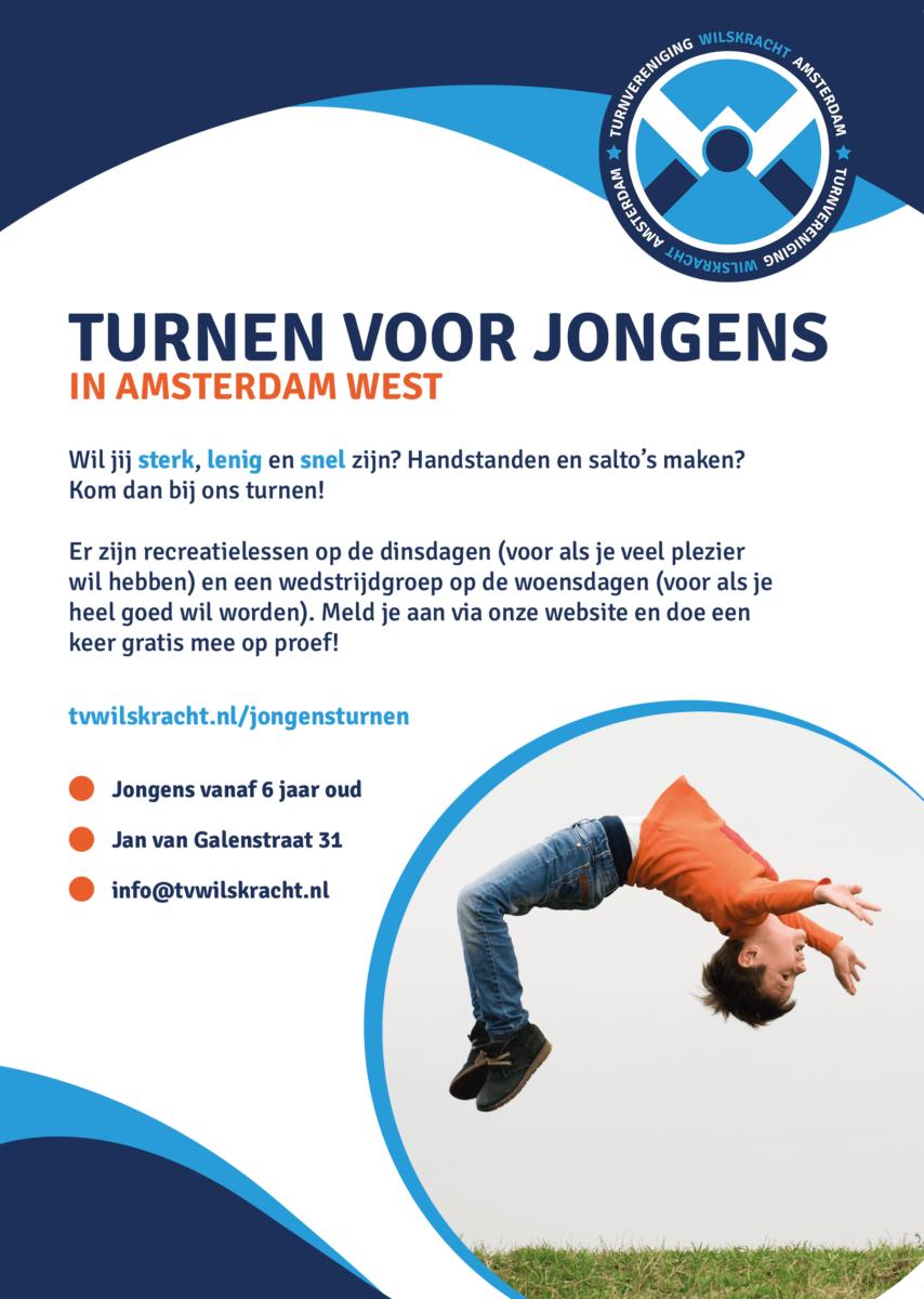 Turnen jongens Amsterdam